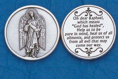 St. Raphael Pocket Token - 1