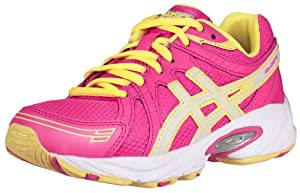 ASICS GEL-Excite GS Running Shoe (Little Kid/Big Kid),Hot Pink/White/Sun Yellow,3 M US Little Kid