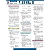Algebra 2 - REA's Quick Access Reference Chart (Quick Access Reference Charts)