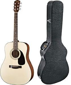 Fender CD-60 Acoustic Guitar with Deluxe Hardshell Case from Fender