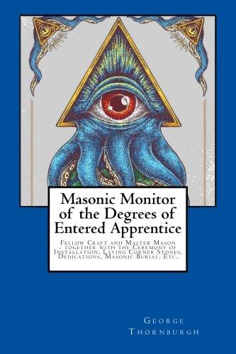 Ebook masonic monitor free pdf online download for Masonic craft ritual book
