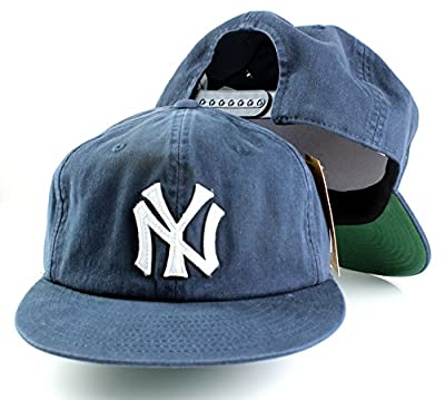 MLB American Needle Basic Retro Baseball Cotton Twill Adjustable Snapback Hat