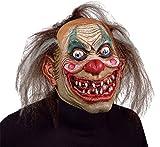 Carnival Drifter Insane Killer Scary Clown Latex Adult Halloween Costume Mask