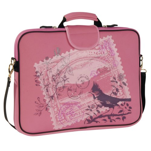 laurex-17-inch-laptop-sleeve-case-bag-w-handle-and-shoulder-strap-pink-stamp