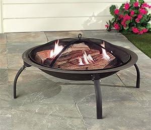Living accents srfp48 portable fire pit 28 for Amazon prime fire pit