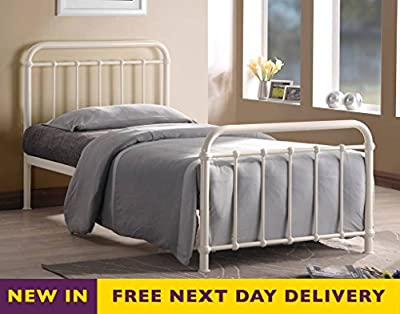 Time Living MIA4 Miami 4ft Small Double Metal Bed
