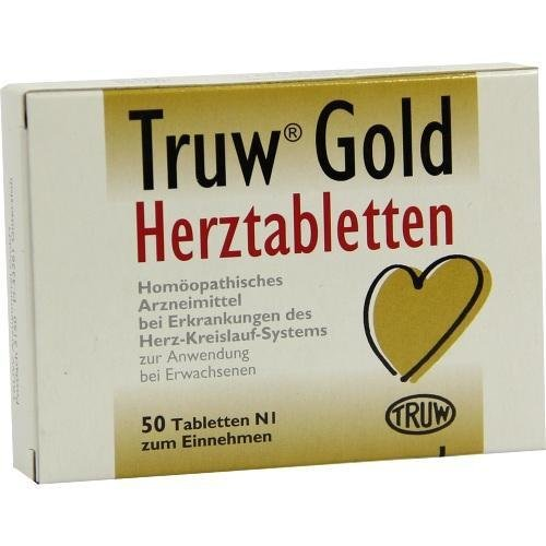 Truw GOLD HERZTABLETTEN 50St Tabletten PZN:4677076 by TRUW Arzneimittel GmbH