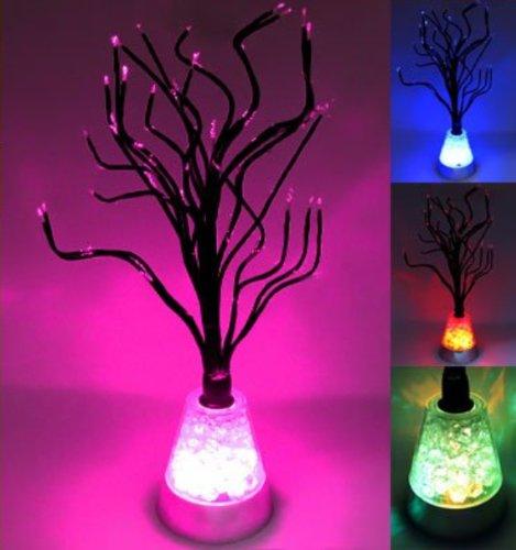 Rextin Color Changing Led Tree Blossom Mood Light Desk Floor Lamp