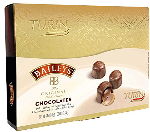 Turin Baileys Irish Cream Filled Milk Chocolates Gift Box (6.3 Ounces)