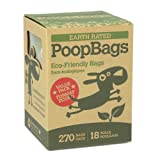 270 Earth Rated Dog Waste Bags, Lavender Scented, 18 Rolls, 270-Count