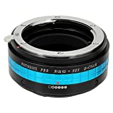 Fotodiox Pro Lens Mount Adapter with Aperture Dial (De-Clicked), Nikon G and DX type Lens to Sony E-Mount NEX Camera, Nikon G - NEX Pro Camera Adapter, fits Sony NEX-3, NEX-5, NEX-5N, NEX-7, NEX-7N, NEX-C3, NEX-F3, Sony Camcorder NEX-VG10, VG20, FS-100, F
