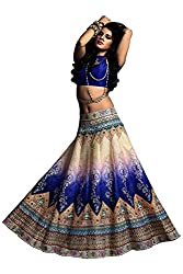 Fashion Galleria Women's Designer Digital Printed Lahenga Choli