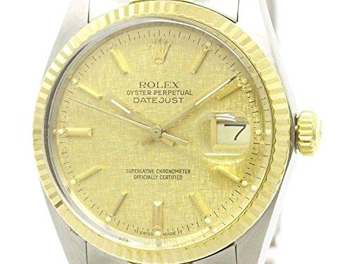[ロレックス]ROLEX【ROLEX】ロレックス デイトジャスト 16013 K18 ゴールド ステンレススチール 自動巻き メンズ 時計16013(BF107961)[中古]