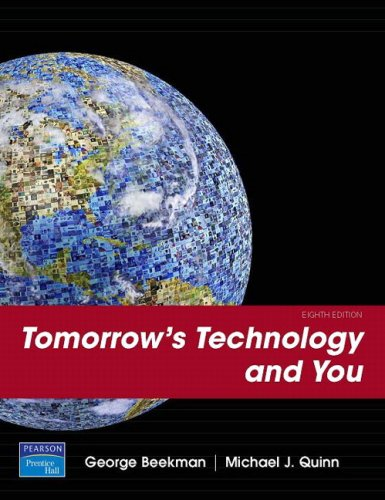 Tomorrow's Technology and You, Introductory (8th Edition)