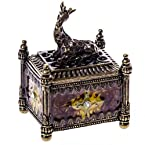 Pewter Giraffe Jewelry Box