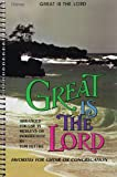 Great Is The Lord Book