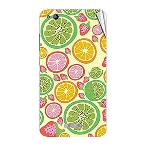 Garmor Designer Mobile Skin Sticker For Gionee V4S - Mobile Sticker