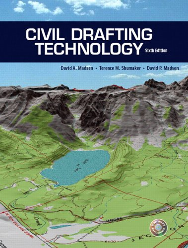 Civil Drafting Technology (6th Edition) - Prentice Hall - 0131711997 - ISBN:0131711997
