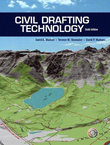 Civil Drafting Technology (6th Edition)