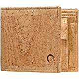 Corkor Men's Trifold Wallet Unique Vegan Gift