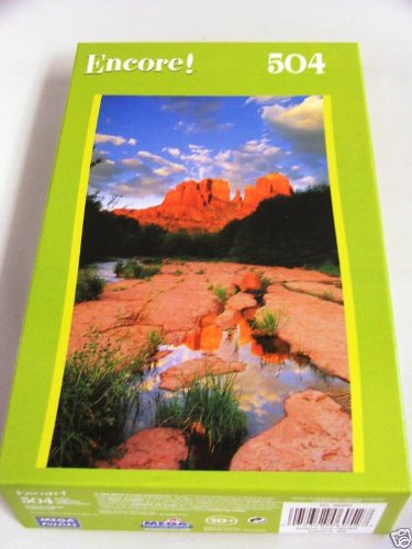 Cheap MEGA Encore 500 Piece Jigsaw Puzzle – Cathedral Rock Sedona AZ (B003IWJFQM)