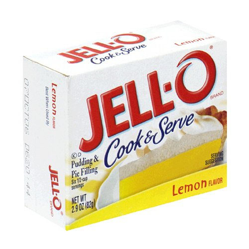 Buy Jell-O Cook & Serve Pudding & Pie Filling, Lemon, 2.9-Ounce Boxes (Pack of 24) (JELL-O, Health & Personal Care, Products, Food & Snacks, Baking Supplies, Pie & Cobbler Fillings)