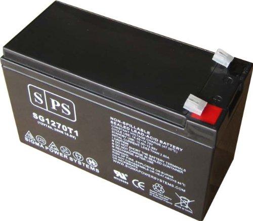 12V 7Ah (Sps Brand) Apc Back Ups Xs 1500Va Bx1500Lcd Replacement Battey