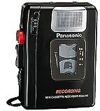 パナソニック テープレコーダー ブラック RQ-L100-K