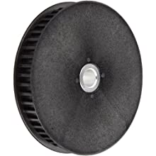 "Boston Gear Timing Pulley, 9 mm Wide Belts, 0.375"" Bore Diameter, Lexan with Aluminum Insert"
