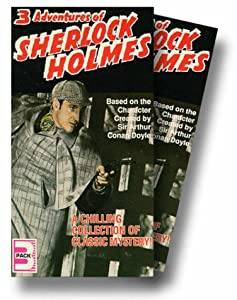Three Adventures of Sherlock Holmes (Box Set) [VHS]