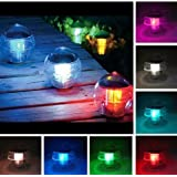 unknown 10-Pack Solar Floating Swimming Pool, Garden Pond Color Changing LED Ball lights at Sears.com
