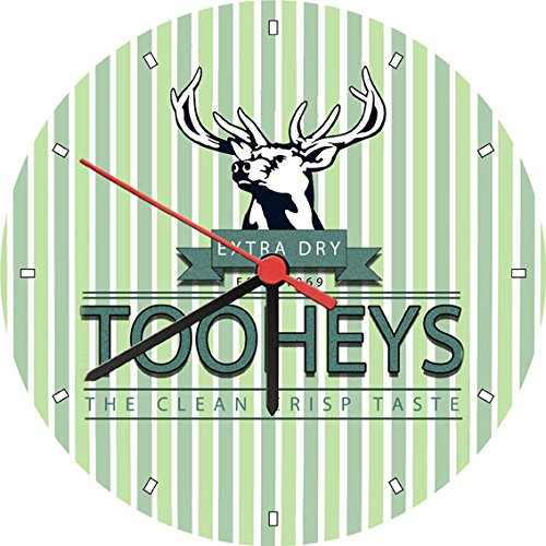 tooheys-extra-dry-1869-beer-wall-clock