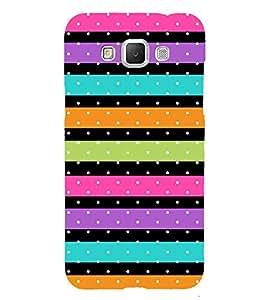 Color Line Dots Pattern 3D Hard Polycarbonate Designer Back Case Cover for Samsung Galaxy Grand 3 G720 :: Samsung Galaxy Grand Max G720