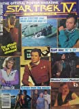 Star Trek IV the Voyage Home Official Poster Magazine
