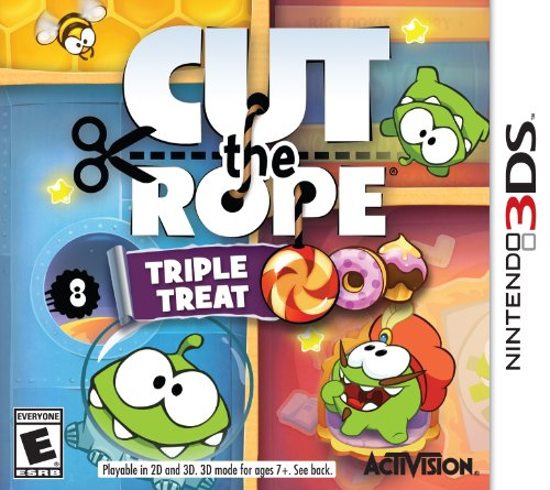 Cut The Rope: Triple Treat - Nintendo 3DS - 1