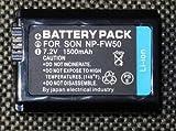 【日本ブランド】SONY ソニー NP-FW50 NEX-3/NEX5/nex-5n 対応 互換バッテリー 1500mAh