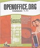 echange, troc Claudine Garcin, Corinne Hervo - OpenOffice.org : (Version 1.1) (1Cédérom)