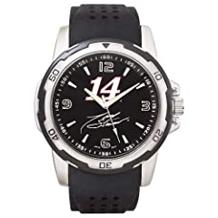 NASCAR Tony Stewart Mens Stealth Sport Watch by Logo Art