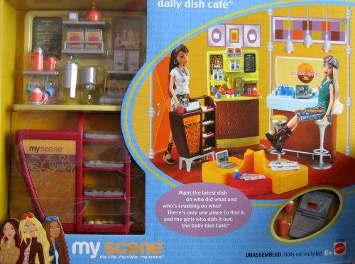 Barbie My Scene Daily Dish Cafe Playset (2003)