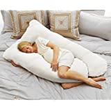 Coolmax Pregnancy Pillow, White