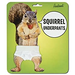 Funny product Accoutrements Genuine Squirrel Underpants