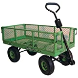 The Small And Versatile Pull Along Handy Garden Trolley - Ideal For Transporting Tools, Plants and Garden Waste