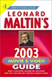 Leonard Maltin's Movie & Video Guide 2003 (0452283299) by Maltin, Leonard