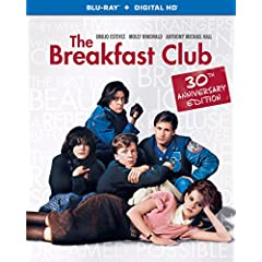 The Breakfast Club 30th Anniversary Edition debuts on Blu-ray, DVD, and Digital HD March 10th from Universal
