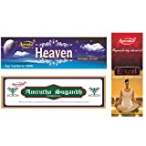 Amrutha Aromatics Assorted Incense Sticks 100G (Pack Of 3 ) - B00T9PAXN6