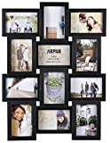 Arpan Multi Aperture Photo Picture Frame - Holds 12 X 6''X4'' Photos