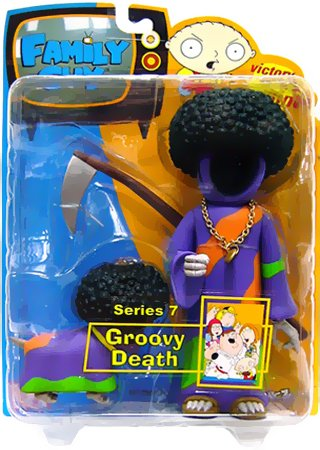 Buy Low Price Mezco Family Guy Series 7: Groovy Death Action Figure (B000P20IOG)