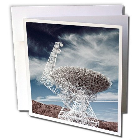 Gc_97091_1 Danita Delimont - Technology - Wv, National Radio Astronomy Observatory Telescope - Us49 Wbi0070 - Walter Bibikow - Greeting Cards-6 Greeting Cards With Envelopes