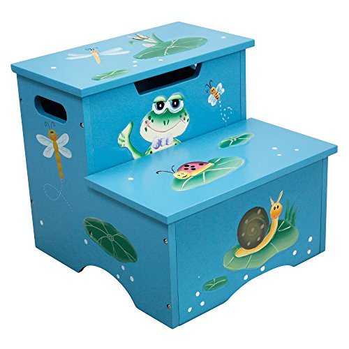 Fantasy Fields - Froggy Step Stool w/Storage - 1