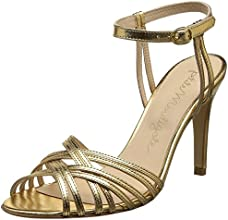 Petite Mendigote Mille Patte, Sandales femme - Or (Gold Foil), 39 EU